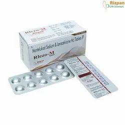 Montelukast Sodium & Levocetirizine HCL Tablets, Rizpan Life Sciences, Prescription