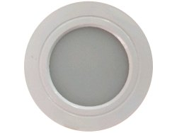 5 W Cool White Round LED Surface Panel Light, 110V
