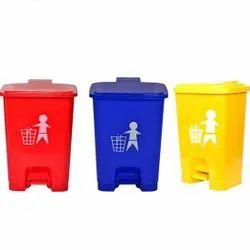 Bio Waste Dustbin Set Bio Waste Dustbin With Lid Bio Medical Waste Dustbins 10 TO 60 LTRE