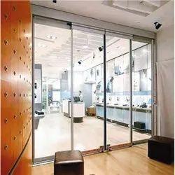 Automatic Sensor Sliding Glass Door