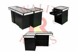 Black Super Market Cash Counter