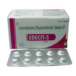 Levocetirizine Dihydrochloride 5mg Tablet Edecit-5