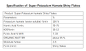 Super potassium humate (Shiny flakes)