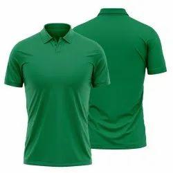 Green Color Polo T Shirt