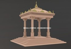Jaisalmer Yellow Sandstone chatri