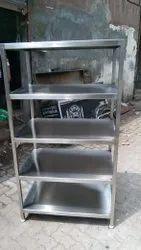 Stainless Steel 5 Shelf Storage Rack