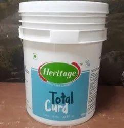 15L HDPE Curd Bucket