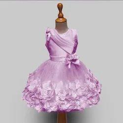 SILK Pink Baby Doll Dress