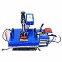 Blue 5 In 1 Combo Heat Press Machine
