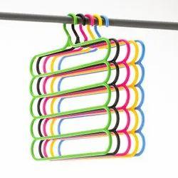 Multicolor Plastic Cloth Hanger
