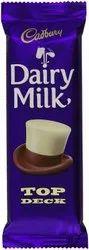 Purple Cadbury Dairy Milk Top Deck Chocolate 80g, Packaging Type: Packet