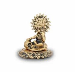 Gold Plated Laddu Gopal Statues For Home Decoration & Corporate Gift