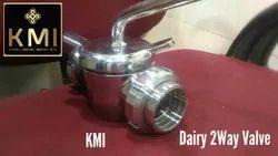 2 Way Dairy Valve