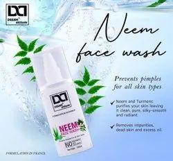 White Dream Attitude Neem Face Wash, Liquid, Age Group: Adults