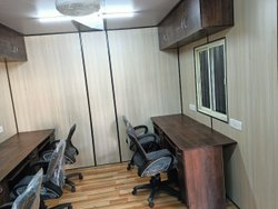 Portable Cabin With Work Station And Manager Cabin