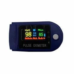 Pulse Oximeter In 4 Colour Display