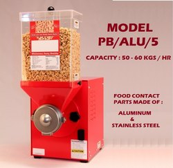 Peanut Butter Processing Machine 50 - 60 Kgs Per Hour Retail Outlet Model