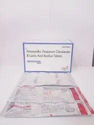 Amoxcillin 500 Clavalanate 125 Lactic Acid Bacillus