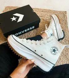 Daily Wear Black Converse Run Star Women's Shoe, Size: 36 To 40
