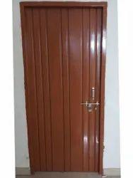 Iron Brown Rectangle Door
