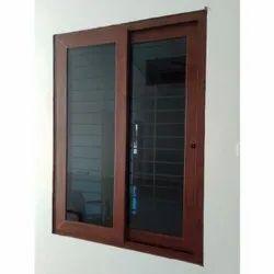UPVC Sliding Windows With Grill