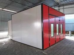 Powder Coating Booth, Cross-Flow Type, Automation Grade: Automatic