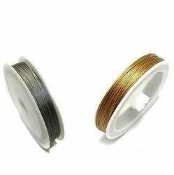 SS Jewellery Making Beading Metal Wire, Quantity Per Pack: 500 pcs, Gauge: 0.45mm