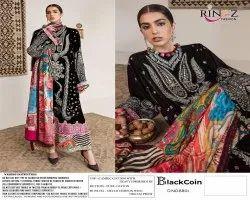 Rinaz Black Coin Festival Wear Pakistani Salwar Kameez Collection