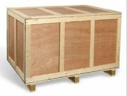 Rectangular Plywood,Pinewood Wooden Pallet Box, For Packaging, Capacity: 500 kg