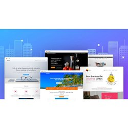 Startup Website Designing Service, With Online Support