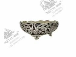 Polished Bowl Silver Plated Artifacts
