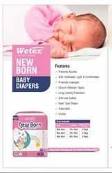 WETEX NEW BORN BABY DIAPERS