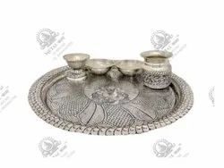 Worship Polished Silver Plated Artifacts