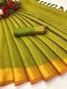 Pure Soft Cotton Silk Saree