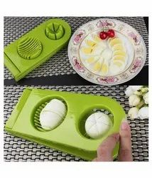 2 In 1 Egg Slicer Sectioned Cutter Cutter Mold Flower Edges Chopper Kitchen Tools