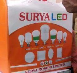 Philips Surya LED Lights, For Indoor, Base Type: B22