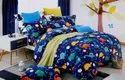 LITTLE STAR CARTOON PRINT DOUBLE BEDSHEET