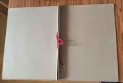Brown Kraft Paper Tag File _100% Recycled, For Office, Paper Size: A4