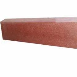 Polished Jem Red Granite Slab, Thickness: 15-20 mm
