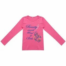 Multicolor Regular Fit Kids Cotton Full Sleeve Shirt, Size: M To Xxl
