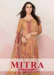 Mitra New Long Designer Digital Print Salwar Suits