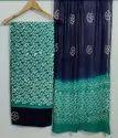 Printed Cotton Suit With Chiffon Dupatta Fabric