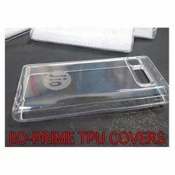 Plastic Jio Prime TPU Mobile Back Cover, Size: (screen) 4.5 Inches
