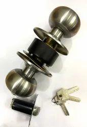 Round SS Knob Door Lock