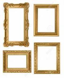 Golden Metal Wall Decor Frame, For Decoration