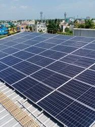 Panel Build Acrylic Rooftop Solar Installation Service, in South India