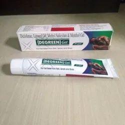 Diclofenac Linseed oil  Methyl Salicylate Menthol Gel- Dgreen