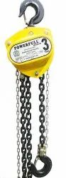 ISI Marked Medium Duty Chain Pulley Block-3Ton x 3mtrs Lift