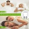Anti Snore Free Sleep Silicone Magnetic Nose Clip