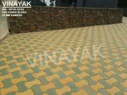 Reflective Damroo Design Paver Block